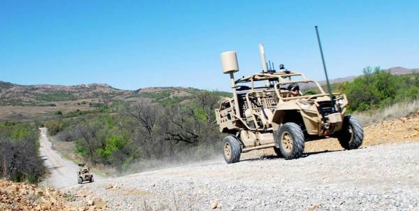 This Souped-Up Dune Buggy Can Call In Strikes From Cyberspace — And Outer Space