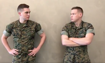 The Pentagon's 'National High Five Day' Video Is Extremely Awkward
