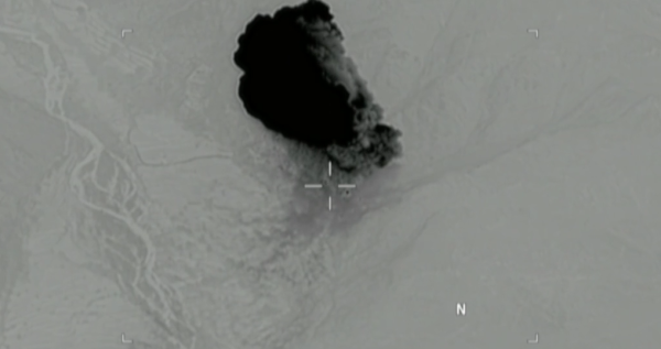 New Satellite Photos Suggest The 'Mother Of All Bombs' Did Its Job In Afghanistan