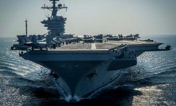 North Korea Threatens To Sink Approaching USS Carl Vinson