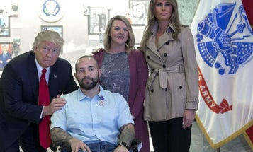 Trump Needs To Stop Treating The Purple Heart Like A Game Show Prize