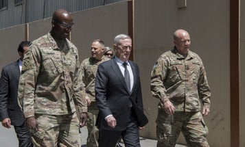 Mattis In Kabul: It's 'Going To Be Another Tough Year' For US Troops In Afghanistan