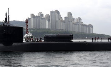 US Sub Makes Port Call In South Korea Just In Time For North Korea Military Parade