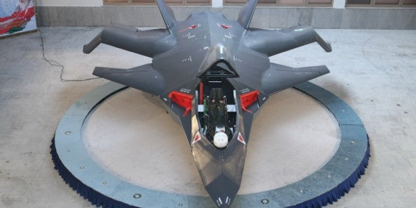 Iran's New 'Stealth' Fighter Looks Like A Flying Garbage Pile