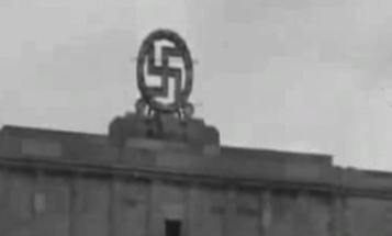 72 Years Ago, The US Army Blew Up A Giant Swastika In Nazi Germany