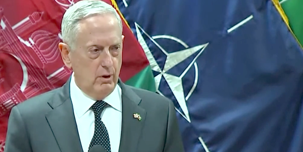Russian Defense Minister Blasts Mattis For 'Unprofessional' Accusation Of Arms Sale To Taliban