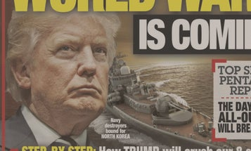 National Enquirer's Trump Cover Mistakes Russian Warship For US 'Destroyer'