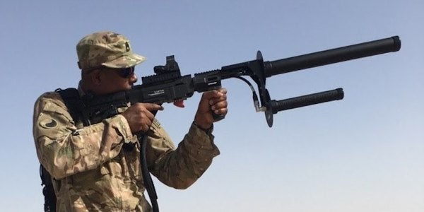 The Army Is Preparing To Field This Electromagnetic Rifle Against ISIS Drones