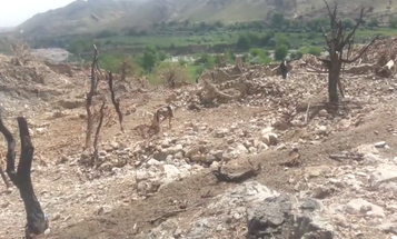 New Footage Shows Aftermath Of The MOAB Strike In Afghanistan