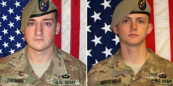 'Friendly Fire' Possible Cause Of Ranger Deaths In Afghanistan, DoD Says