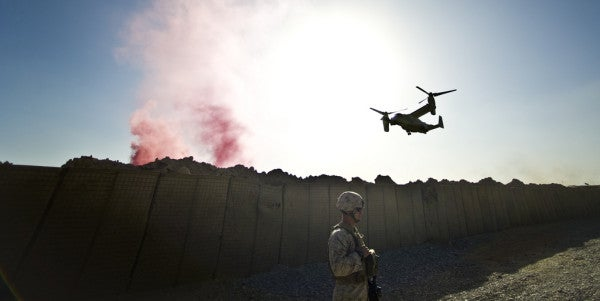 Marines Take Over Advising Mission In Helmand