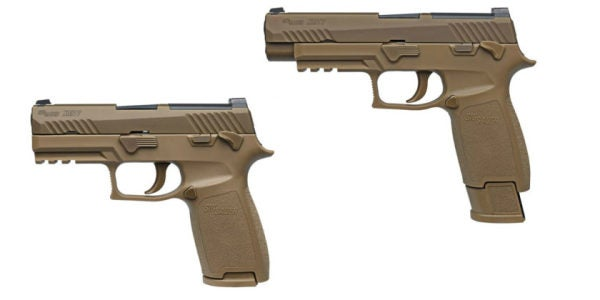 The Army Has Decided Which Troops Get Dibs On The New Sig Sauer Handgun