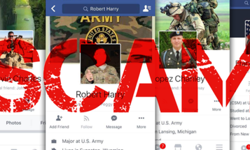 Online Scammers Continue To Steal Troops' Identities To Lure Women
