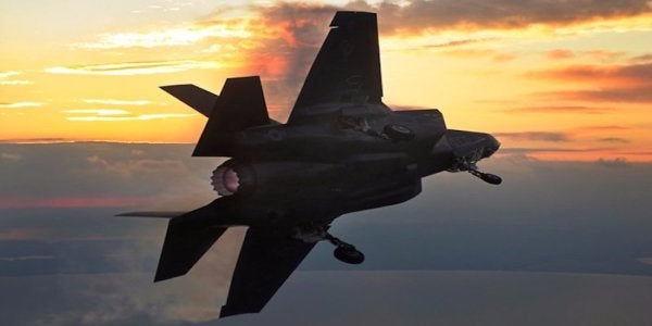 An F-35 Pilot Explains How The Stealth Fighter Psychologically Wrecks The Enemy