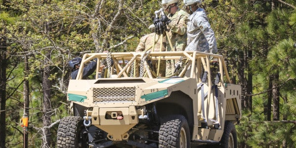 82nd Airborne Division Gets Hooked Up With New All-Terrain Vehicles