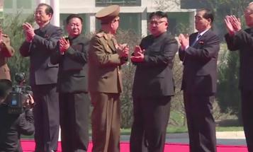 North Korean Leader Orders Troops To Be Ready To 'Break Enemy's Backbone'