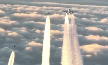 Watch These Typhoon Fighter Jets Intercept A 777 That Went Silent Over Germany