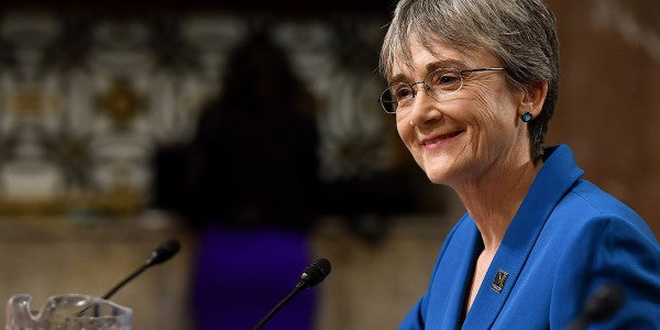 Heather Wilson Confirmed As New Air Force Secretary