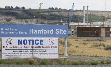 Tunnel Collapse At Washington State Nuclear Waste Site Forces Workers To Take Cover