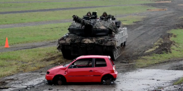 The Army's Latest Exercise Is Basically Just A Monster Truck Rally For Tanks