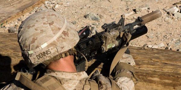 This Marine Unit Is The First To Deploy With Suppressors On Every Weapon