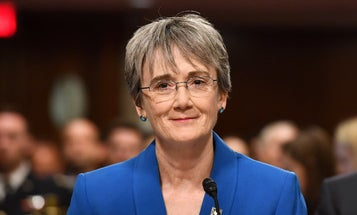 Why Heather Wilson Succeeded Where Trump's Other Service Secretary Nominees Failed