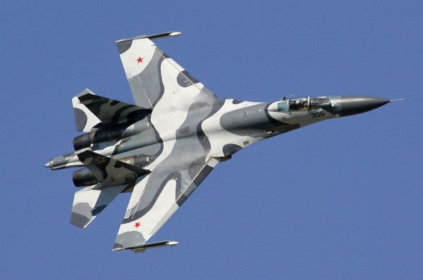A Russian Jet Came Within 20 Feet Of A US Surveillance Plane Over The Black Sea