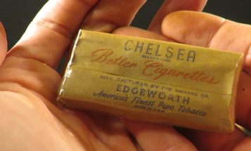 Watch This Guy Smoke 74-Year-Old Cigarettes From A World War II K-Ration