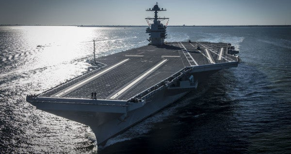 The Navy's Most Futuristic Aircraft Carrier Is One Step Closer To Dominating The Open Seas