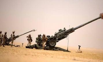 Artillery Marines Head To Syria Ahead Of Raqqa Offensive