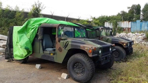 US Soldier Accused In Stolen Humvee Case In South Korea