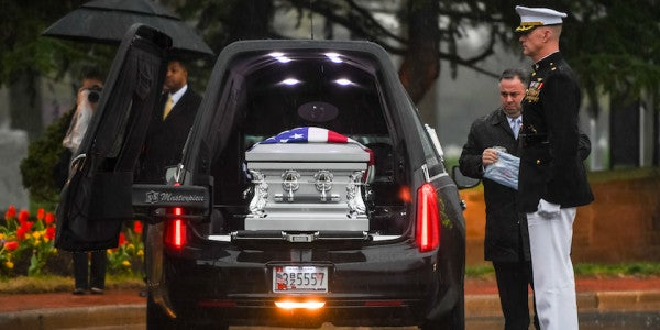 Air Force Mortuary Affairs Employee Accused Of 'Disrespecting' John Glenn's Remains
