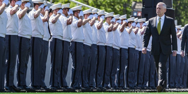 West Point Creates Soldiers Who Are Best When Times Are Worst, Mattis Tells Graduating Class