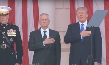 How Did President Trump's First Trip To Honor Arlington's War Dead Go?