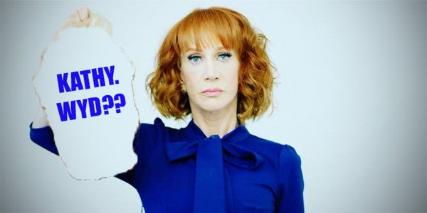 Kathy Griffin Briefly Unites Divided Nation With Stupid President-Killing Joke