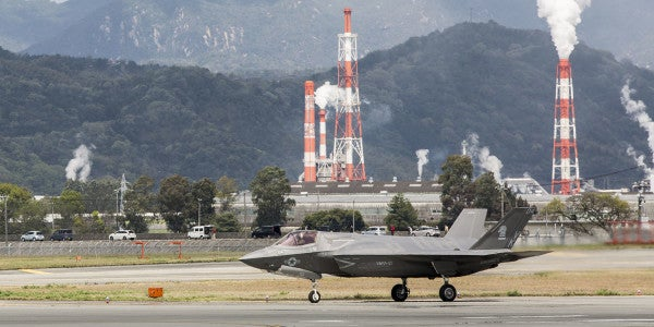The Marines' First F-35B Squadron Is Preparing To Deploy In The Pacific
