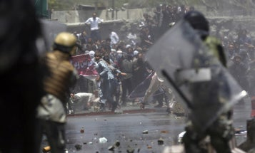 Afghan Protesters Clash With Police Over Worsening Terror Attacks