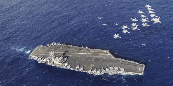 Third Aircraft Carrier Steams Toward Pacific As US Armada Looms Near North Korea