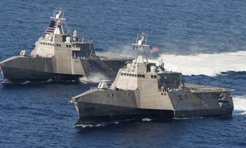 Navy To Commission New Ship Named After Former Arizona Congresswoman