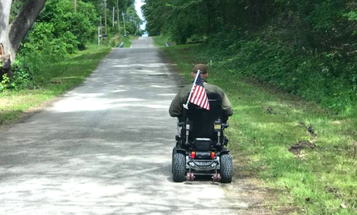 This Vet Is Raising Suicide Awareness By Riding Over 400 Miles — In His Wheelchair