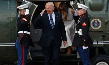 No, President Trump Is Not Splitting Up The Navy And Marine Corps