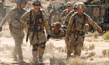 The Army Is Looking Into Expanding-Foam Kits To Stop Internal Bleeding
