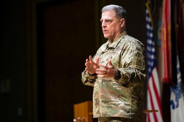 Army Chief Of Staff: A Hollow Force Puts Army And The Nation's Security At Risk