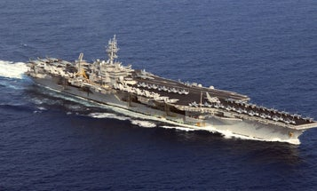 The Navy Is Considering Calling Up The USS Kitty Hawk Amid Fleet Expansion Pressure