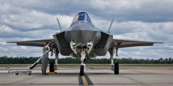 F-35 Fighter Wing Grounded After Pilots Report Problems With The Oxygen System