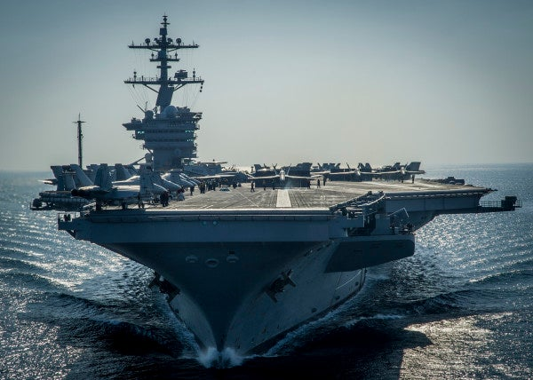 USS Carl Vinson Returns Home From 5-Month Deployment This Week