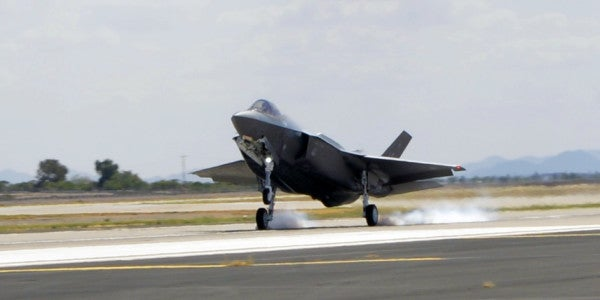 Air Force Extends F-35 Stand-Down Due To Oxygen System Failures