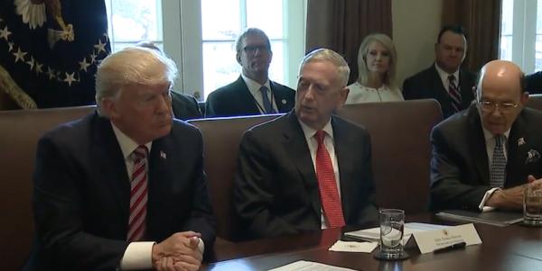Mattis Declines To Suck Up To Trump, Praises Troops Instead