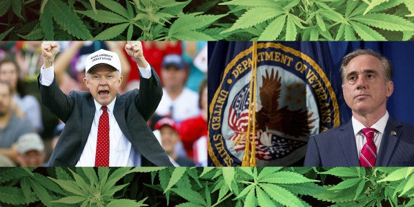 Will Jeff Sessions Sink The VA's Interest In Medical Marijuana For Vets?