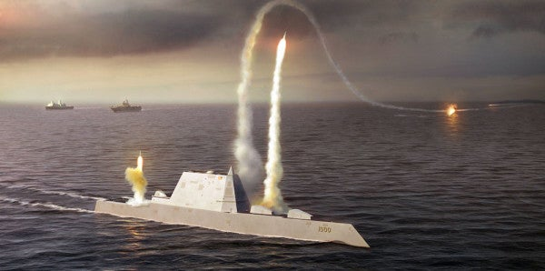 Here's An Inside Look At The Navy's Newest High-Tech Destroyer